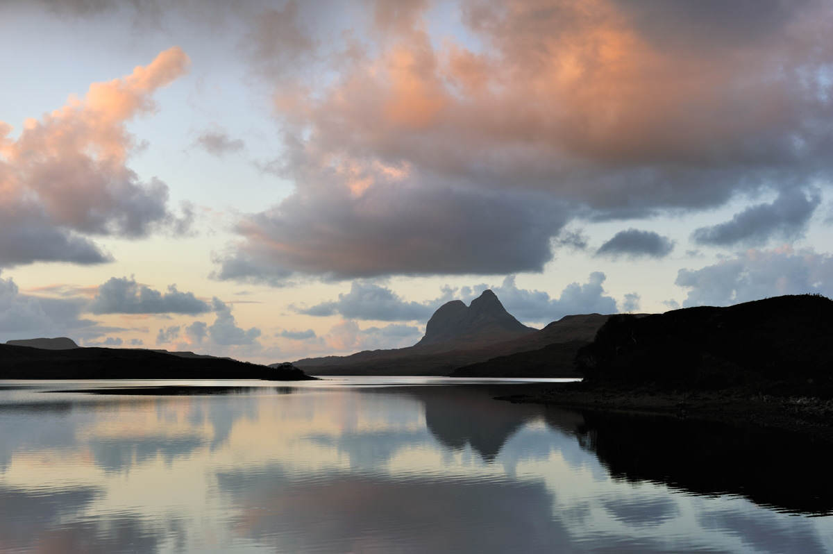 Suilven from Cam Loch - photo copyright of Iain Brownlie Roy
