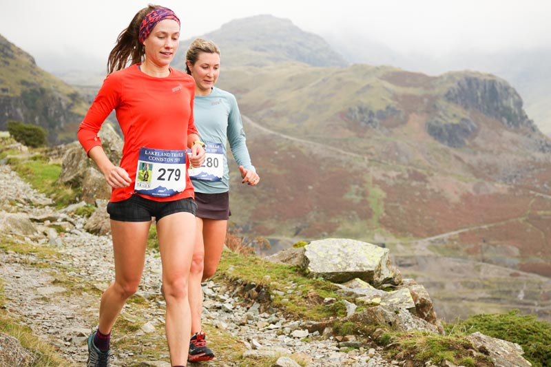 Lakeland Trails Coniston event. Photo by James Kirby