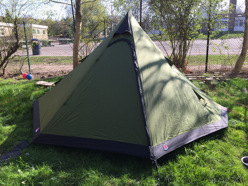 Robens tipi 1 & Robens Green Cone 4 man tent tested and reviewed