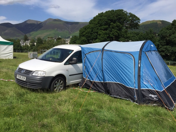 Vango Idris II Low driveaway awning tested and reviewed