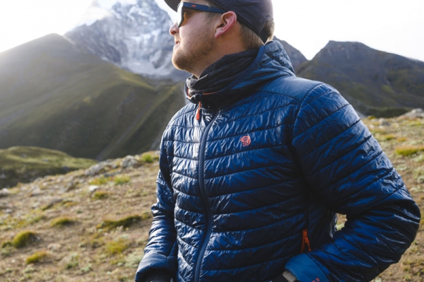 88% recycled Mountain Hardwear Ghost Shadow™ Hoody wins top outdoor clothing award