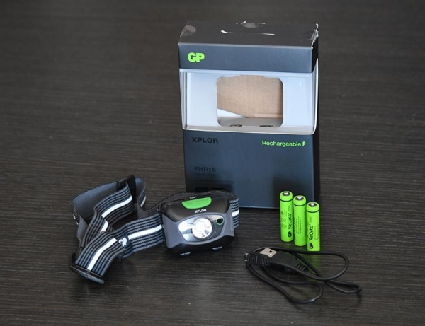 GP Batteries PHR15 300lm headtorch tested and reviewed