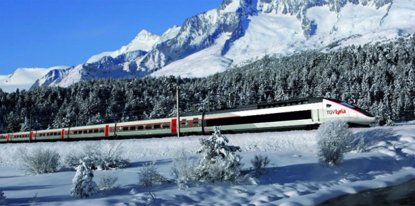 The Alpen Express - Ski the Alps without the flights